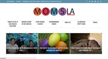 Moms LA Website Redesign