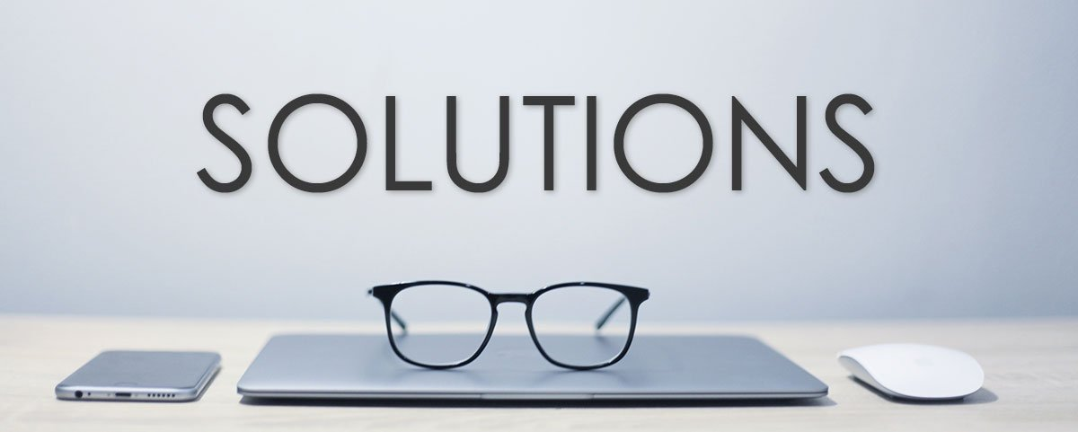 Solutions - Computer with Glasses